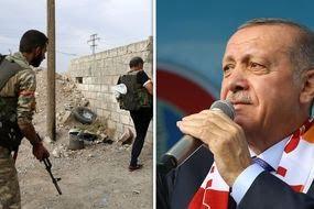 Syria news Erdogan Kurdish fighters buffer zone World War 3 updates
