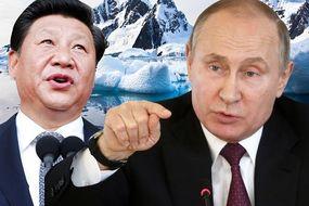 antarctica news china russia vladimir putin xi jinping reserve project world war 3 spt