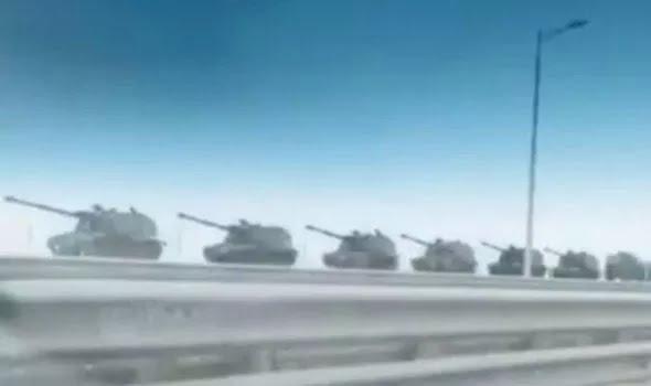 Tanks Crimea Russia