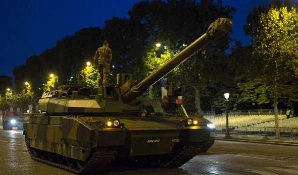 French tanks