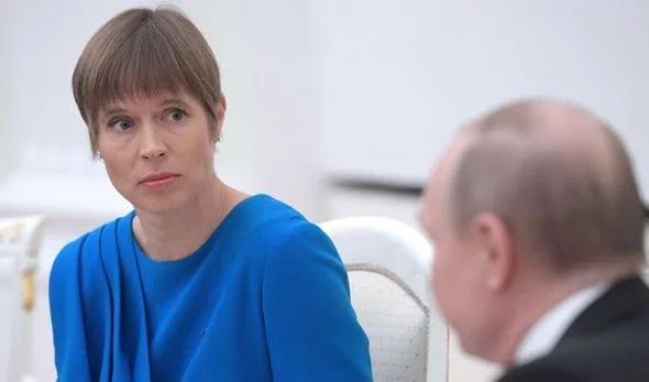 Kersti Kaljulaid Vladimir Putin